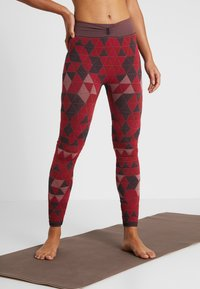 Yogasearcher - QUARTZ - Legging - rouge - 0