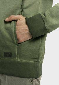 camel active - Zip-up sweatshirt - leaf green - 4