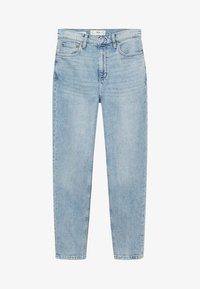 Mango - Jeans Tapered Fit - bleu clair - 5