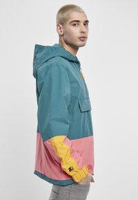 Starter - Windbreaker - green/yellow/pink - 4