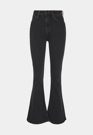 BREESE - Flared Jeans - washed black