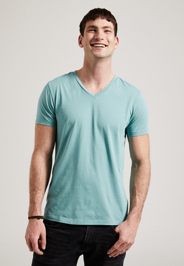 T-shirt basic - turquoise