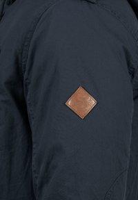Solid - WINTERJACKE CLARKI TEDDY - Winter coat - insignia b - 4