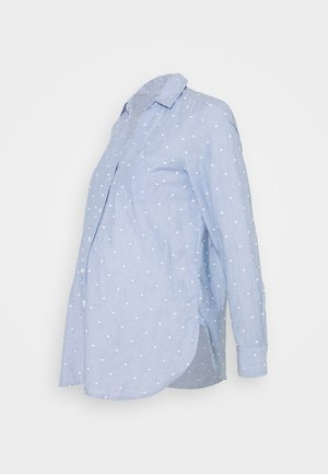 Blouse - blue dot