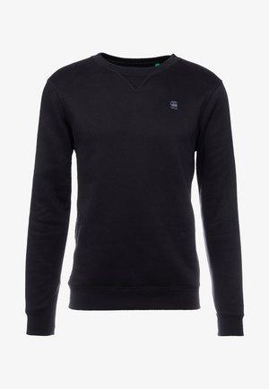 PREMIUM CORE R SW L\S - Sweatshirt - black