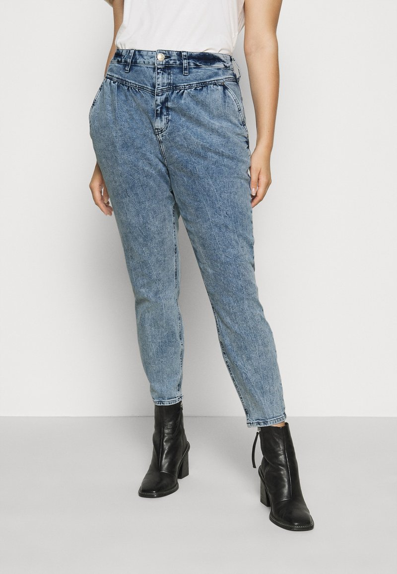 River Island Plus - Relaxed fit jeans - denim marl