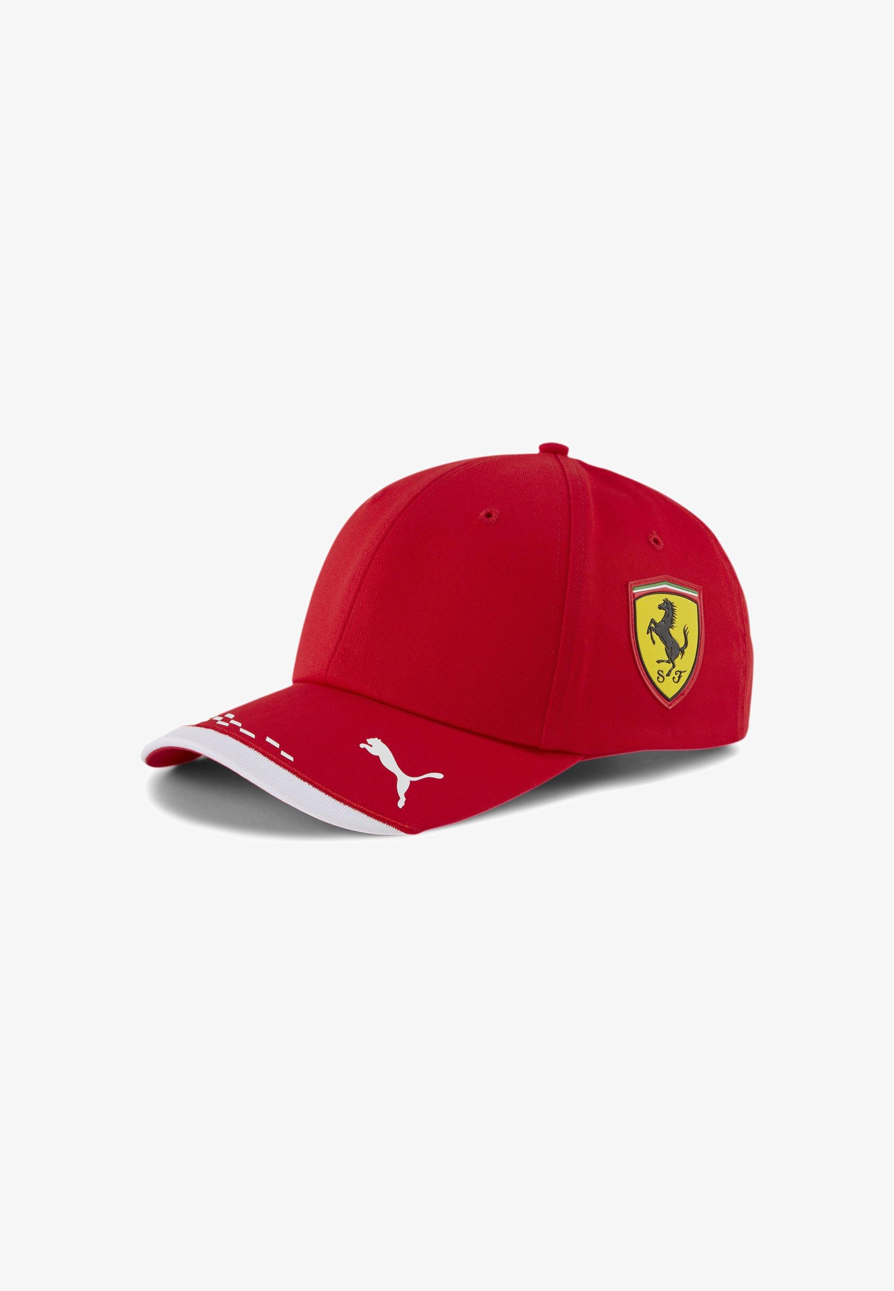 Puma Scuderia Ferrari Cap Rosso Corsa Red Zalando De