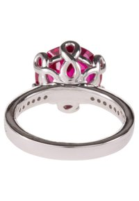 Caï - Ring - dark ruby - 3