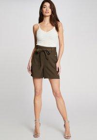 Morgan - Shorts - olive - 1