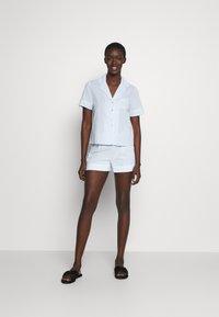Anna Field - Pyjama set - blue/white - 1