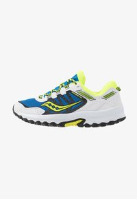 Saucony - EXCURSION TR13 - Tenisky - blue/citron/black - 0