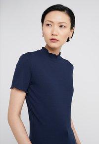 HUGO - DINANA - Print T-shirt - open blue - 4