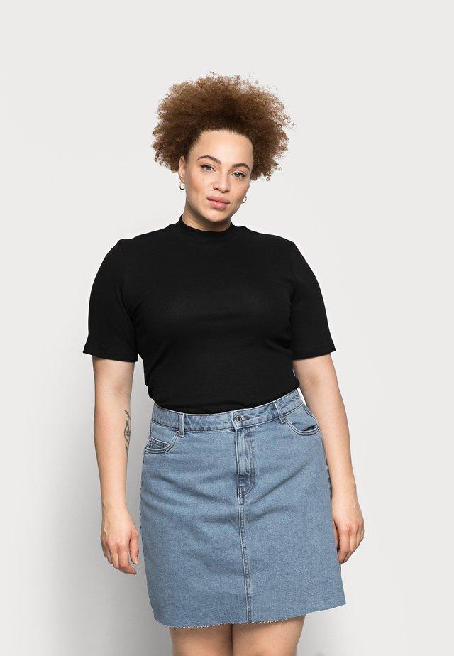 PCBIRDIE TNECK - T-shirt basic - black