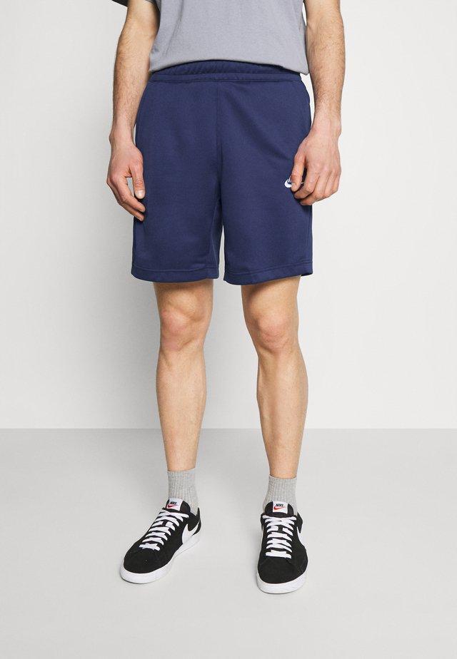 TRIBUTE - Shorts - midnight navy/white