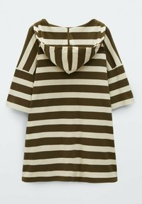 Massimo Dutti - Print T-shirt - khaki - 1