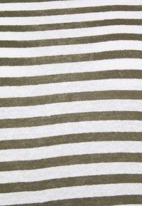 Marks & Spencer London - STRIPE - Print T-shirt - khaki - 2