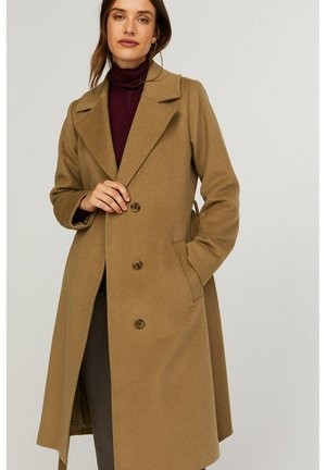 ESTHER - Classic coat - camel