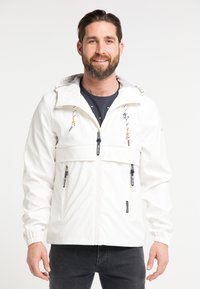 Schmuddelwedda - Waterproof jacket - white - 0