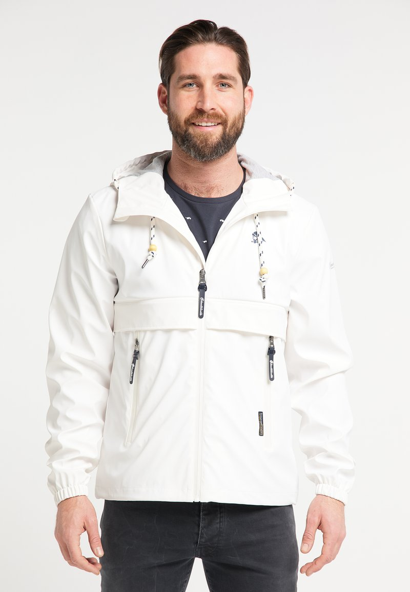 Schmuddelwedda - Waterproof jacket - white