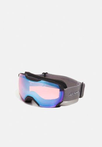 PHEOS  - Masque de ski - black/grey