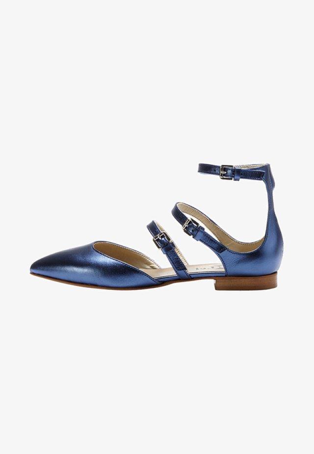 Ballerinasko m/ rem - blue