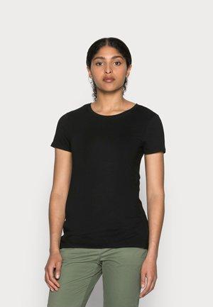 CREW - T-shirts - true black