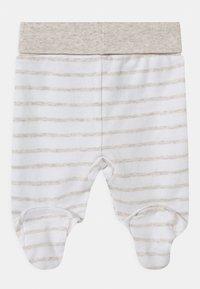 Jacky Baby - 2 PACK UNISEX - Kalhoty - white/beige - 1