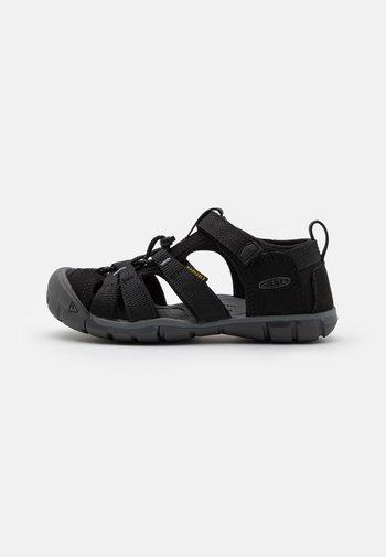SEACAMP II CNX UNISEX - Walking sandals - black/steel grey