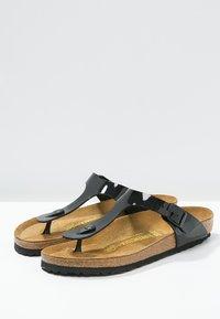 Birkenstock - GIZEH - T-bar sandals - schwarz - 4