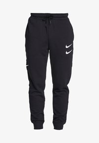 Nike Sportswear - M NSW PANT FT - Pantalon de survêtement - black/white - 5