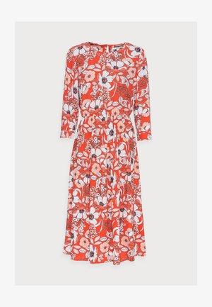DRESS - Day dress - orange red