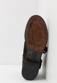 A.S.98 - CLASH - Cowboy/biker ankle boot - nero - 4