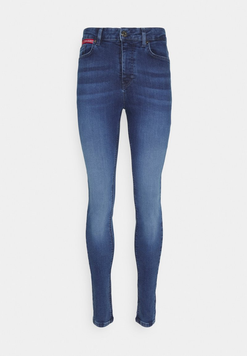 11 DEGREES - Jeans Skinny Fit - mid blue wash