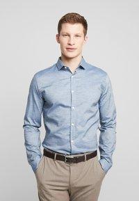 Lindbergh - Business skjorter - mid blue - 0