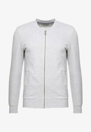 JACKET - Zip-up sweatshirt - light stone/grey melange