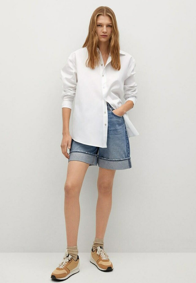 ALBERTO-I - Button-down blouse - blanco roto