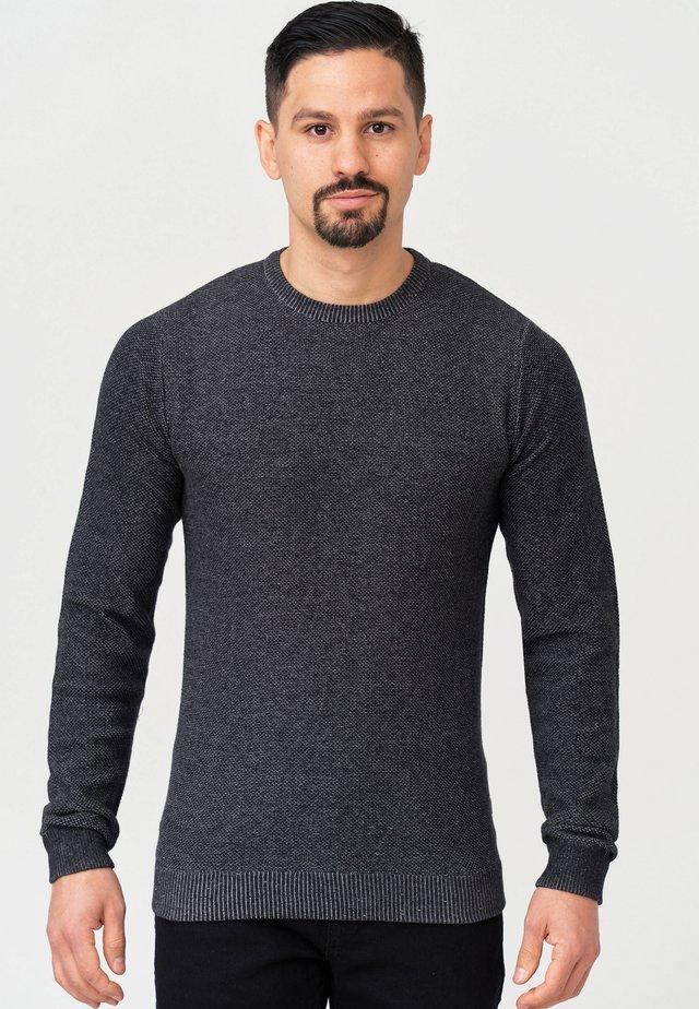 CRESPO - Pullover - black