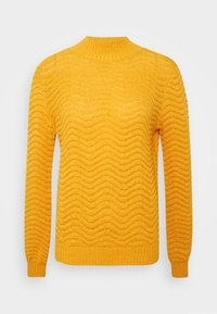 YAS - Strickpullover - old gold - 4