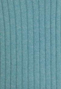 pure cashmere - TURTLENECK DRESS - Jumper dress - steel blue - 2
