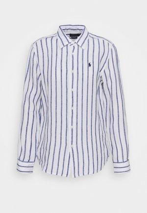 STRIPE LONG SLEEVE - Košile - white/blue