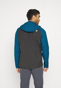 The North Face - MENS STRATOS JACKET - Hardshell jacket - anthracite/teal/blue - 2