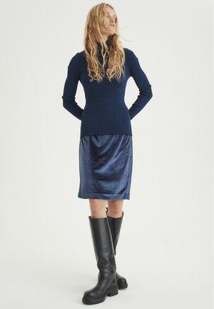 ORIELIW - Pencil skirt - midnight magic