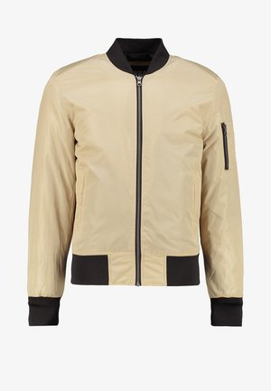 Bomber bunda - gold/black