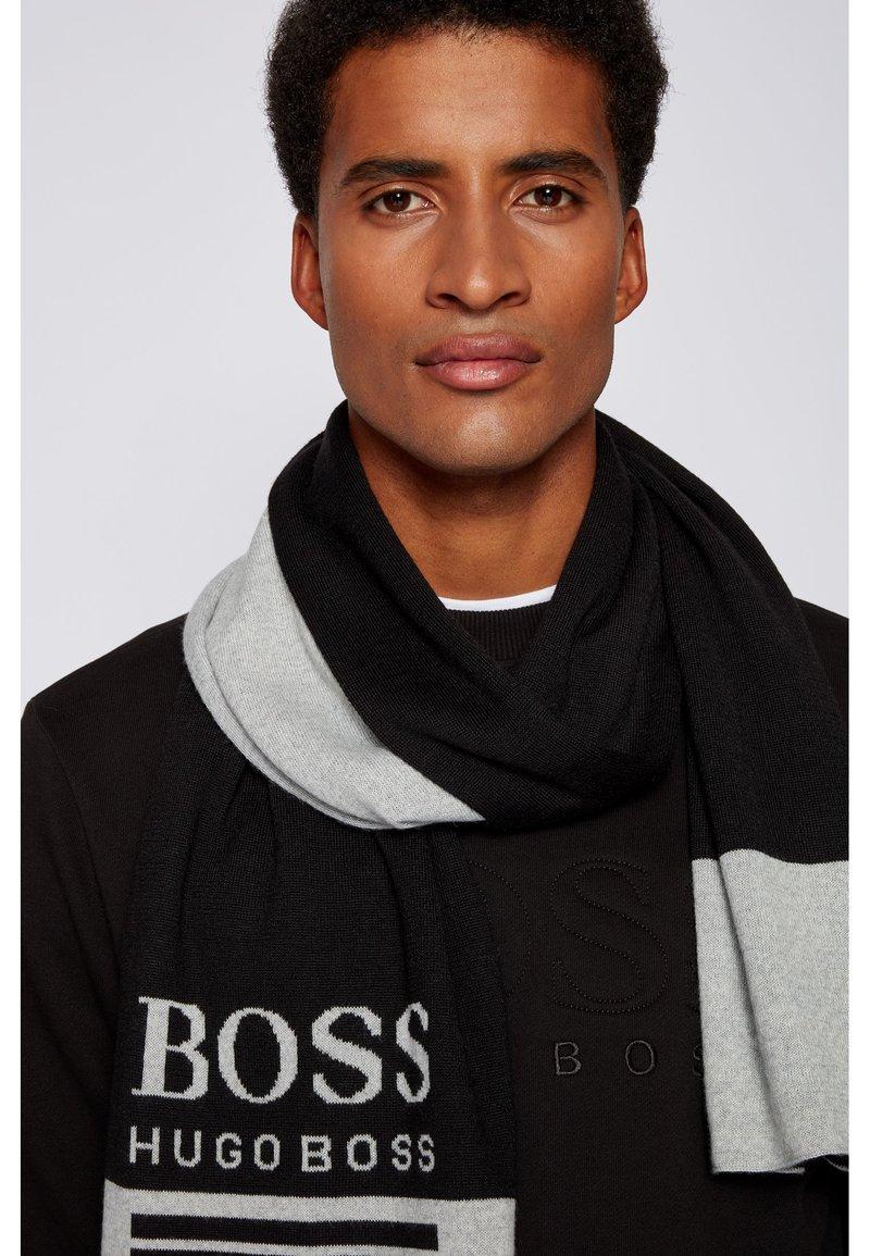 BOSS - ALBO - Scarf - black