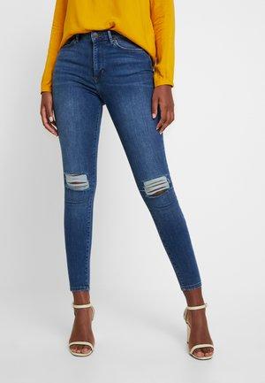 VMSOPHIA DEST - Jeans Skinny Fit - medium blue denim