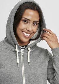 Oxmo - BINJA - Zip-up hoodie - grey melange - 3
