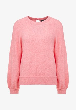SUPERSOFT RAGLAN MOCK NECK - Jumper - bright dahlia