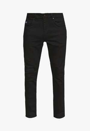 BASIC JEANS LONDON - Džíny Slim Fit - black