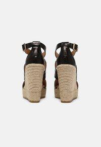 Kanna - SOFIA - Platform sandals - schwarz - 3