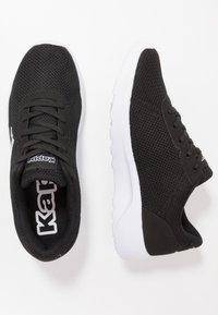 Kappa - TUNES - Kuntoilukengät - black/grey - 1